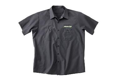 Short-Sleeve Charcoal Crew